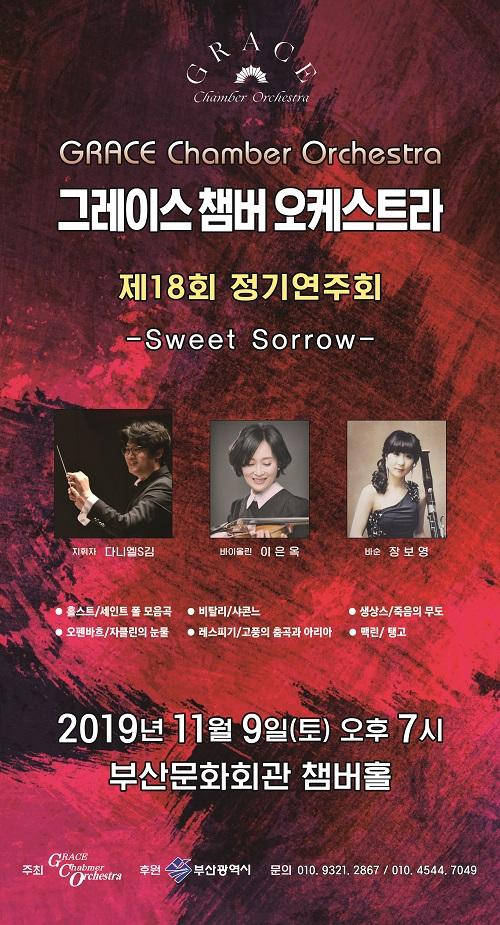 그레이스챔버오케스트라 제18회 정기연주회